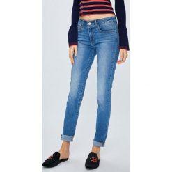 Levi's - Jeansy 711. Brązowe jeansy damskie rurki Levi's®, z bawełny. Za 399,90 zł.