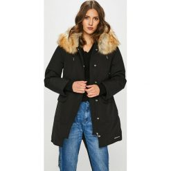 Calvin Klein Jeans - Parka puchowa. Szare parki damskie Calvin Klein Jeans, l, z bawełny. Za 1499,00 zł.