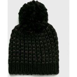 Only - Czapka Tibana. Szare czapki zimowe damskie marki ONLY, s, z bawełny, z okrągłym kołnierzem. Za 59,90 zł.