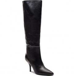 Kozaki PATRIZIA PEPE - 2V8223/A483-K103 Nero. Czarne buty zimowe damskie Patrizia Pepe, ze skóry, przed kolano, na wysokim obcasie, na obcasie. Za 1989,00 zł.