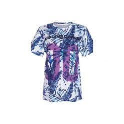 T-shirt Purple Zero. Niebieskie t-shirty damskie marki Who cares. Za 89,99 zł.