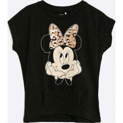 Bluzki dziewczęce bawełniane: Name it - Top dziecięcy Minnie Mouse 110-140 cm