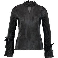 Bluzki asymetryczne: Navy London JEANIE Bluzka black