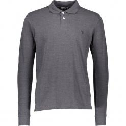 Koszulka polo w kolorze szarym. Szare koszulki polo marki U.S. Polo Assn., m, z haftami. W wyprzedaży za 130,95 zł.