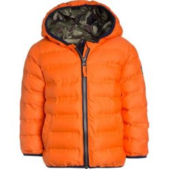 Next PADDED JACKET  Kurtka zimowa orange. Brązowe kurtki chłopięce przeciwdeszczowe Next, na zimę, z materiału. W wyprzedaży za 127,20 zł.