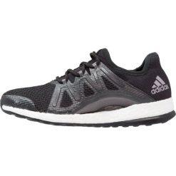 Buty damskie: adidas Performance PURE BOOST XPOSE Obuwie do biegania treningowe core black/tech silver metallic
