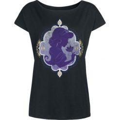 Aladyn Jasmin - Ancient Rose Koszulka damska czarny. Czarne bluzki nietoperze Aladyn, s, z motywem z bajki, z dekoltem w łódkę. Za 79,90 zł.