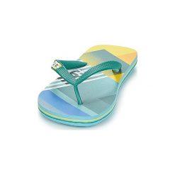 Japonki DC Shoes  SPRAY GRAFFIK M SNDL AQR. Zielone japonki męskie DC Shoes. Za 79,20 zł.