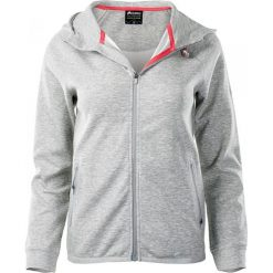 Bluzy rozpinane damskie: ELBRUS Bluza Sportowa Damska Reso Wo's Light Grey Melange/Dubarry r. S