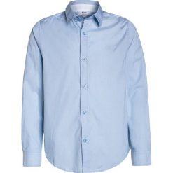 BOSS Kidswear Koszula faded blue. Niebieskie bluzki dziewczęce bawełniane marki BOSS Kidswear. Za 289,00 zł.