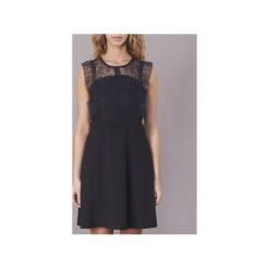 Sukienki krótkie Derhy  CACTUS. Sukienki małe czarne marki Derhy, l, z krótkim rękawem. Za 295,20 zł.