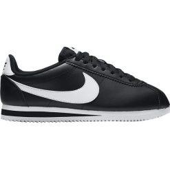 """Buty Nike Wmns Classic Cortez Leather """"Black"""" (807471-010). Czarne buty sportowe damskie Nike, z materiału. Za 215,99 zł."""