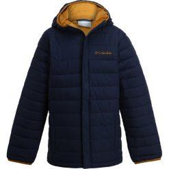 Columbia POWDER LITE PUFFER Kurtka zimowa collegiate navy. Niebieskie kurtki chłopięce zimowe marki Columbia, z materiału. Za 249,00 zł.