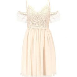 Sukienki hiszpanki: Little Mistress Petite BARDOT Sukienka koktajlowa offwhite