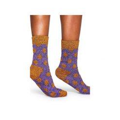 Skarpetki WOOL Happy Socks WBD022-2001. Brązowe skarpetki męskie Happy Socks, z tkaniny. Za 38,49 zł.