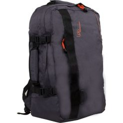Plecak w kolorze szarym - 39 x 50 x 20 cm. Szare plecaki męskie Les P'tites Bombes, w paski. W wyprzedaży za 108,95 zł.