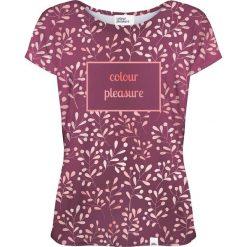 Colour Pleasure Koszulka damska CP-034 253 fioletowa r. XL/XXL. Fioletowe bluzki damskie marki Colour pleasure, xl. Za 70,35 zł.