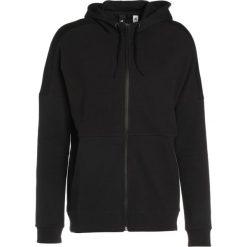 Adidas Performance Bluza rozpinana black. Czarne bluzy męskie rozpinane marki adidas Performance, z bawełny. W wyprzedaży za 271,20 zł.