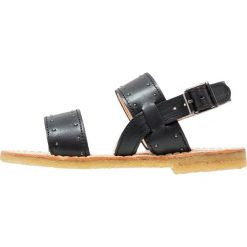 ANGULUS Sandały black. Czarne sandały chłopięce ANGULUS, z materiału, z otwartym noskiem. W wyprzedaży za 311,35 zł.