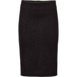 Spódniczki: Elastyczna spódnica żakardowa bonprix czarny