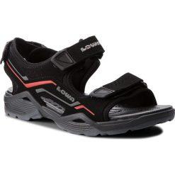 Sandały męskie skórzane: Sandały LOWA - Duralto Trail 410380  Black/Red 9901
