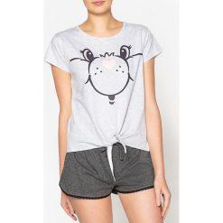 Piżamy damskie: Piżama z krótkimi spodenkami ze wzorem Bisounours