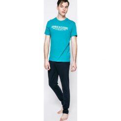 Henderson - Piżama. Białe piżamy męskie marki B'TWIN, m, z elastanu, z krótkim rękawem. W wyprzedaży za 59,90 zł.