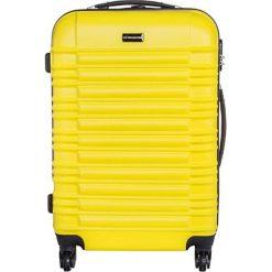 Walizki: Walizka w kolorze żółtym – (S)44 x (W)66 x (G)26 cm