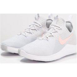 Nike Performance FREE TR 8 Obuwie treningowe pure platinum/storm pink/white. Szare buty sportowe damskie Nike Performance, z materiału. Za 419,00 zł.