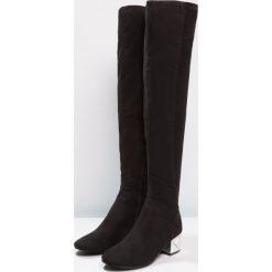 ALDO DERRALIA Muszkieterki black. Czarne buty zimowe damskie ALDO, z materiału. W wyprzedaży za 343,20 zł.