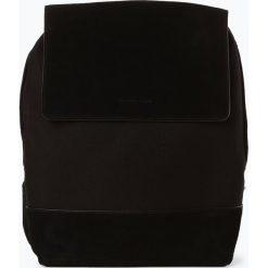Kapten and Son - Damski plecak z dodatkiem skóry – Oslo, czarny. Czarne plecaki damskie Kapten and Son, ze skóry. Za 499,95 zł.