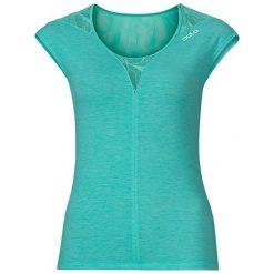 Odzież damska: Odlo Koszulka damska Crew neck s/s Natural + X-light turkusowa r. XL