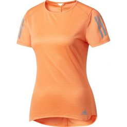 Adidas Koszulka damska Response Tee pomarańczowa r. M (BP7455). Brązowe topy sportowe damskie Adidas, m. Za 109,50 zł.