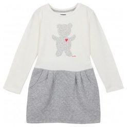 Sukienki dziewczęce: Sukienka z odcinanym dołem i kieszeniami dla dziewczynki 9-12 lat