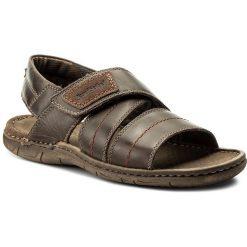 Sandały JOSEF SEIBEL - Paul 49 43249 TE787 330 Moro. Brązowe sandały męskie skórzane Josef Seibel. W wyprzedaży za 199,00 zł.
