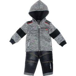 Spodnie niemowlęce: 2-częściowy zestaw w kolorze czarnym