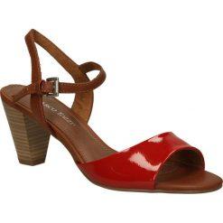 SANDAŁY MARCO TOZZI 2-28324-24. Brązowe sandały damskie marki Marco Tozzi. Za 69,99 zł.