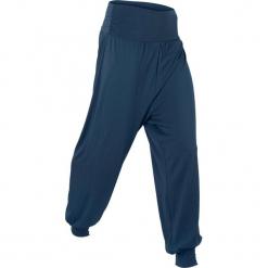 """Spodnie """"wellness"""" haremki, długie, Level 1 bonprix ciemnoniebieski. Niebieskie bryczesy damskie bonprix, na fitness i siłownię. Za 74,99 zł."""