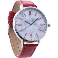 Czerwony Zegarek Constantly. Czerwone zegarki damskie Born2be. Za 29,99 zł.