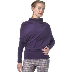 Odzież damska: Sweter w kolorze fioletowym
