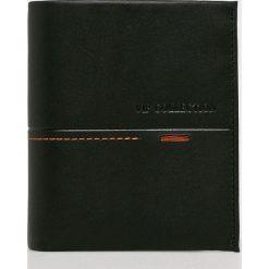 VIP COLLECTION - Portfel skórzany Beverly Hils. Czarne portfele męskie VIP COLLECTION, z materiału. Za 129,90 zł.