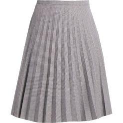 Spódniczki plisowane damskie: Banana Republic HOUNDSTOOTH PLEATED Spódnica plisowana black white novelty