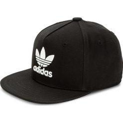 Czapka z daszkiem adidas - Ac Cap Tre Flat BK7324 Black. Czarne czapki z daszkiem damskie marki Adidas, z bawełny. Za 99,00 zł.