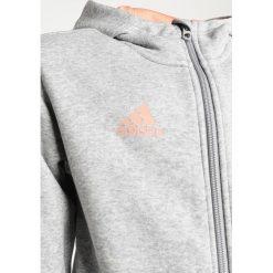 Adidas Performance Bluza rozpinana mid grey heather/chacor. Czerwone bluzy chłopięce rozpinane marki adidas Performance, m. Za 139,00 zł.