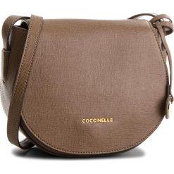 Torebka COCCINELLE - CF5 Clementine E1 CF5 15 02 01 Taupe N75. Brązowe listonoszki damskie Coccinelle, ze skóry. W wyprzedaży za 659,00 zł.