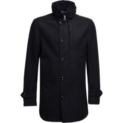 Płaszcze przejściowe męskie: GStar GARBER  Płaszcz wełniany /Płaszcz klasyczny black