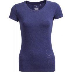 T-shirt damski  TSD601 - denim melanż - Outhorn. Brązowe t-shirty damskie Outhorn, melanż, z bawełny. W wyprzedaży za 24,99 zł.