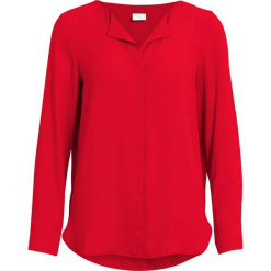 """Bluzka """"Lucy"""" w kolorze czerwonym. Czerwone bluzki damskie Vila & Co., xs. W wyprzedaży za 86,95 zł."""