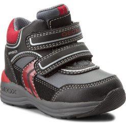 Buty zimowe chłopięce: Śniegowce GEOX – B N.Gulp B.B Abx B B741GB 050FU C0048 Black/Red