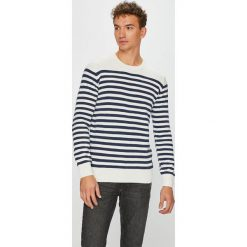 Pepe Jeans - Sweter Kingstone. Szare swetry klasyczne męskie Pepe Jeans, l, z bawełny, z okrągłym kołnierzem. W wyprzedaży za 199,90 zł.
